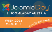 Early Bird-Tickets für JoomlaDay 2016
